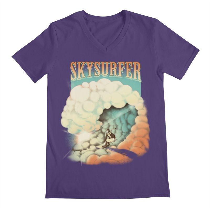 Skysurfer Men's V-Neck by Sebasebi