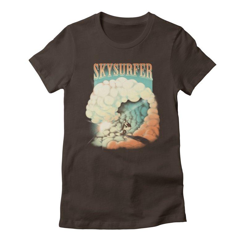Skysurfer Women's Fitted T-Shirt by Sebasebi