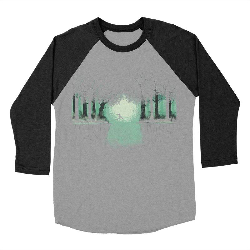 The Great Escape Women's Baseball Triblend T-Shirt by Sebasebi