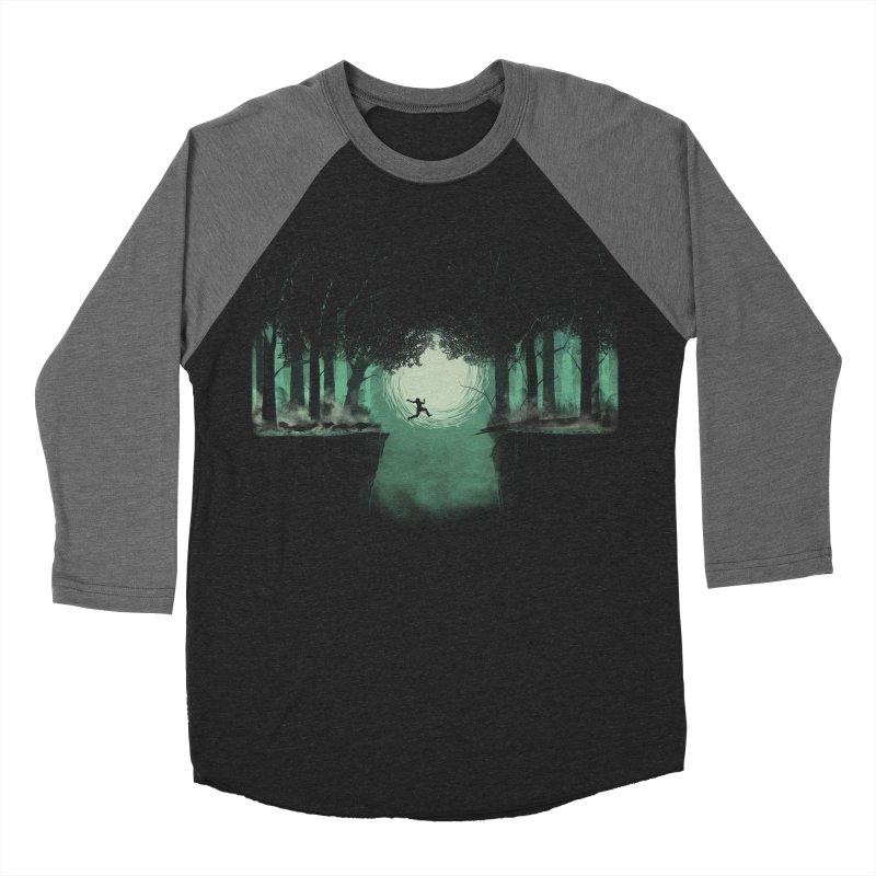The Great Escape Men's Baseball Triblend T-Shirt by Sebasebi