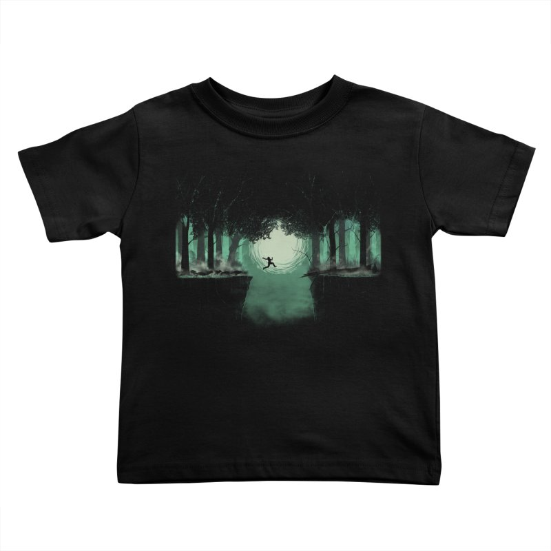 The Great Escape Kids Toddler T-Shirt by Sebasebi