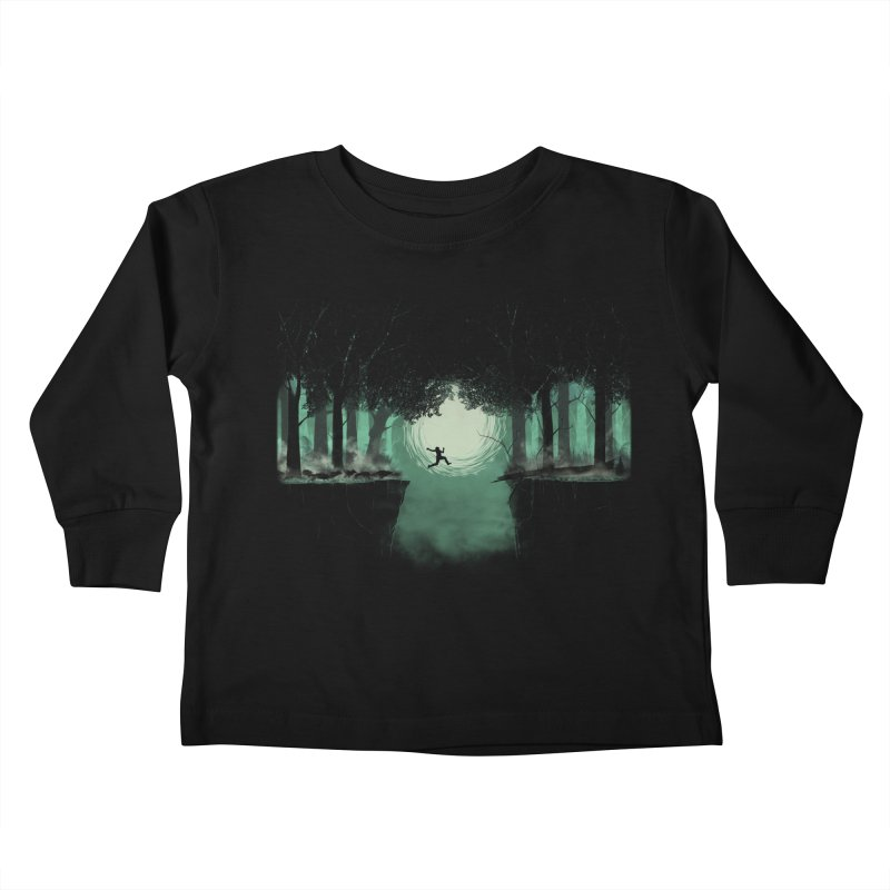The Great Escape Kids Toddler Longsleeve T-Shirt by Sebasebi