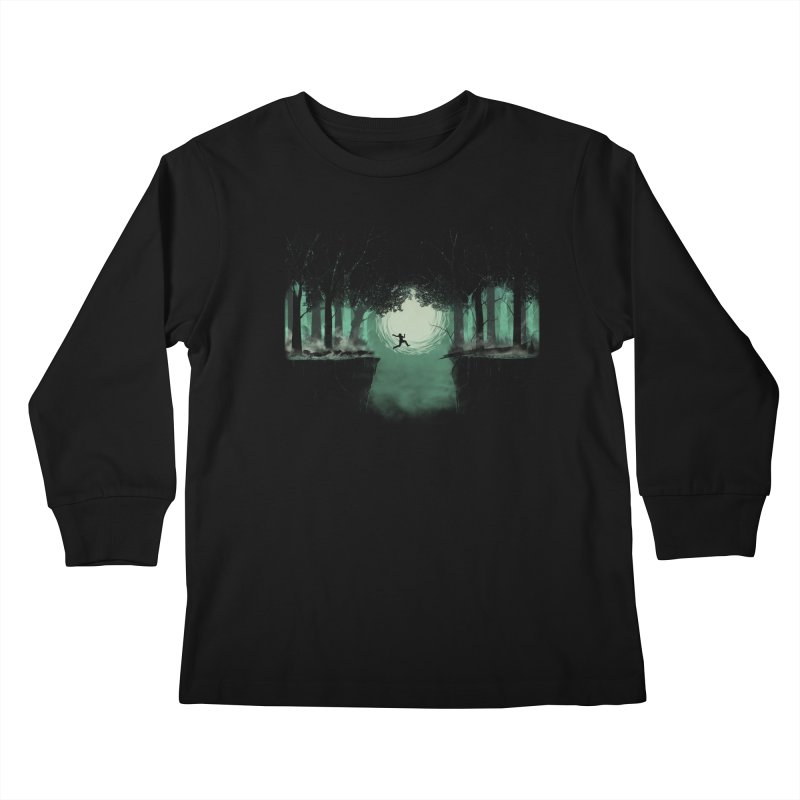 The Great Escape Kids Longsleeve T-Shirt by Sebasebi