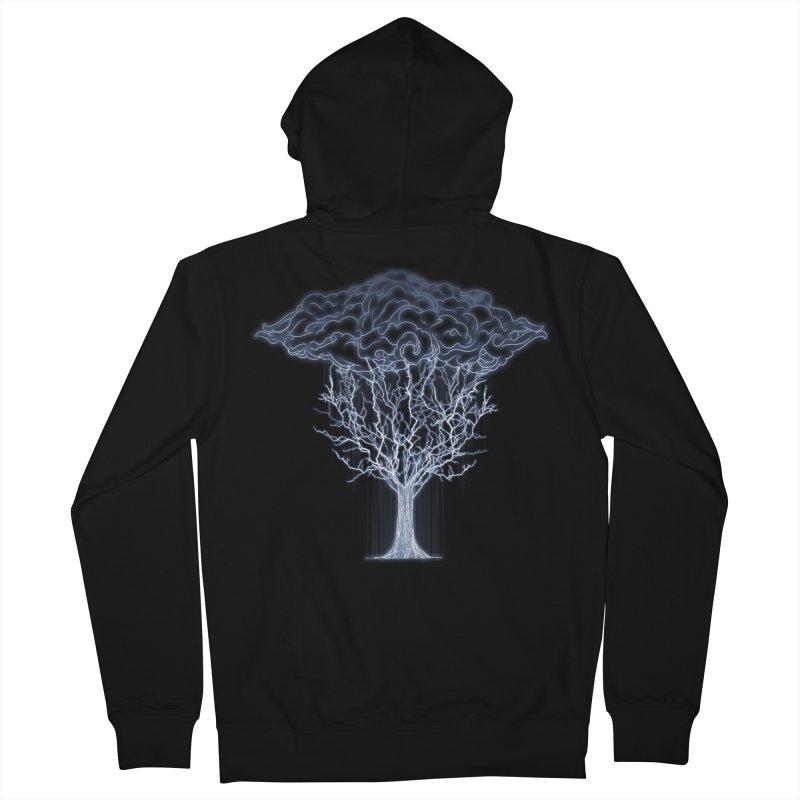 Tree of Lightings Men's Zip-Up Hoody by Sebasebi