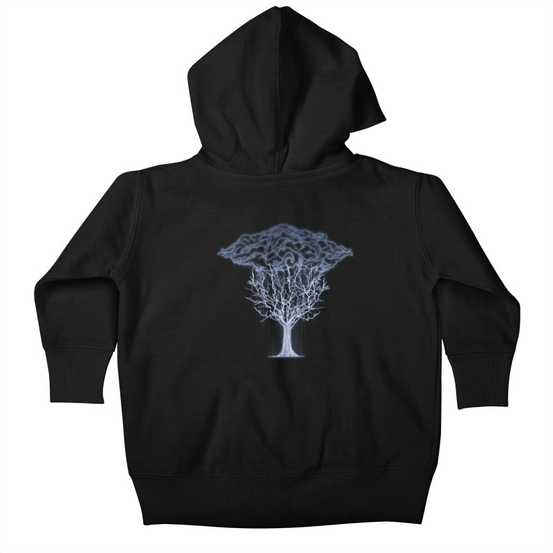 Tree of Lightings Kids Baby Zip-Up Hoody by Sebasebi