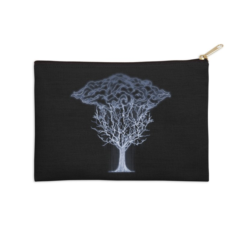 Tree of Lightings Accessories Zip Pouch by Sebasebi
