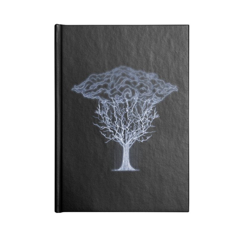 Tree of Lightings Accessories Notebook by Sebasebi