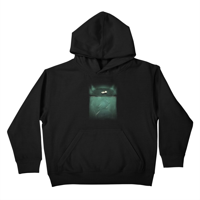 Where is the Universe? Kids Pullover Hoody by Sebasebi