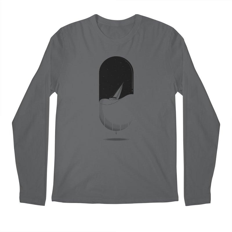The sea in a pill Men's Longsleeve T-Shirt by Sebasebi