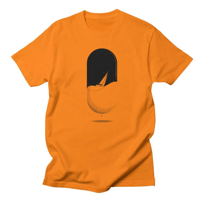 The sea in a pill Men's T-shirt by Sebasebi