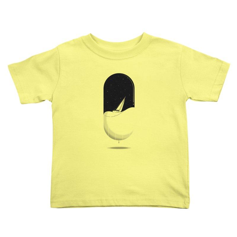 The sea in a pill Kids Toddler T-Shirt by Sebasebi