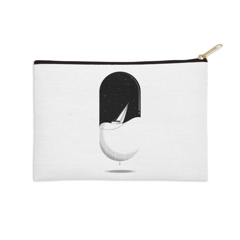 The sea in a pill Accessories Zip Pouch by Sebasebi