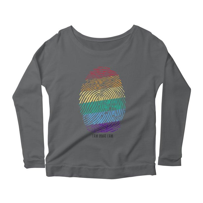 Identity Women's Scoop Neck Longsleeve T-Shirt by Sebasebi