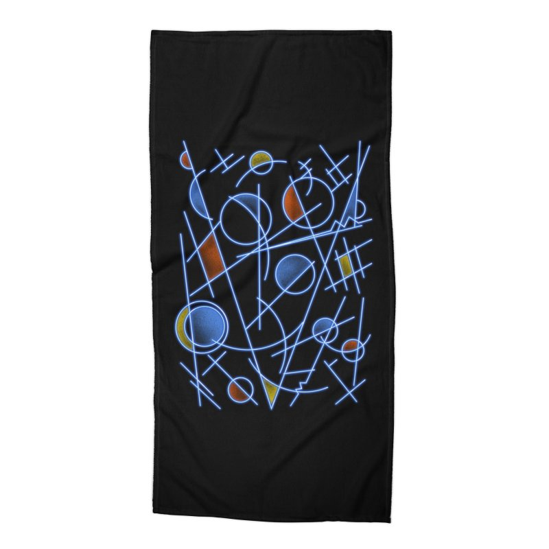 kandinsktronic Accessories Beach Towel by Sebasebi