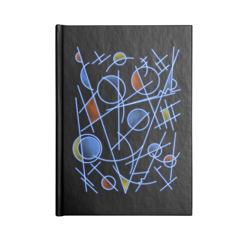 kandinsktronic Accessories Notebook by Sebasebi