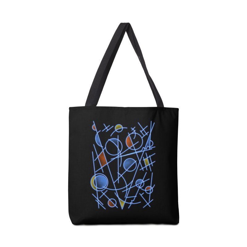 kandinsktronic Accessories Bag by Sebasebi