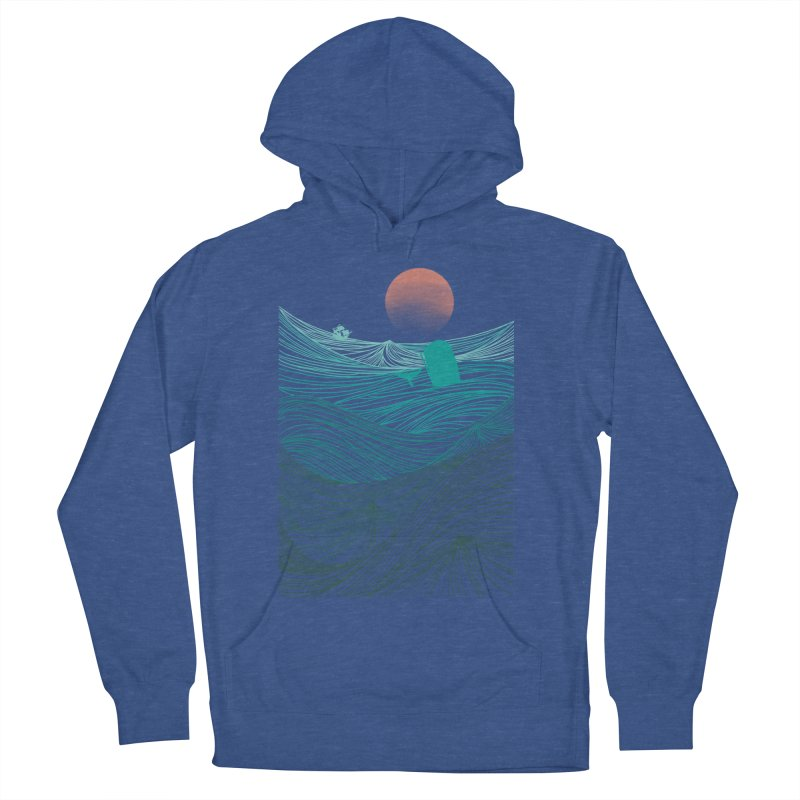 Behind the great whale Women's Pullover Hoody by Sebasebi