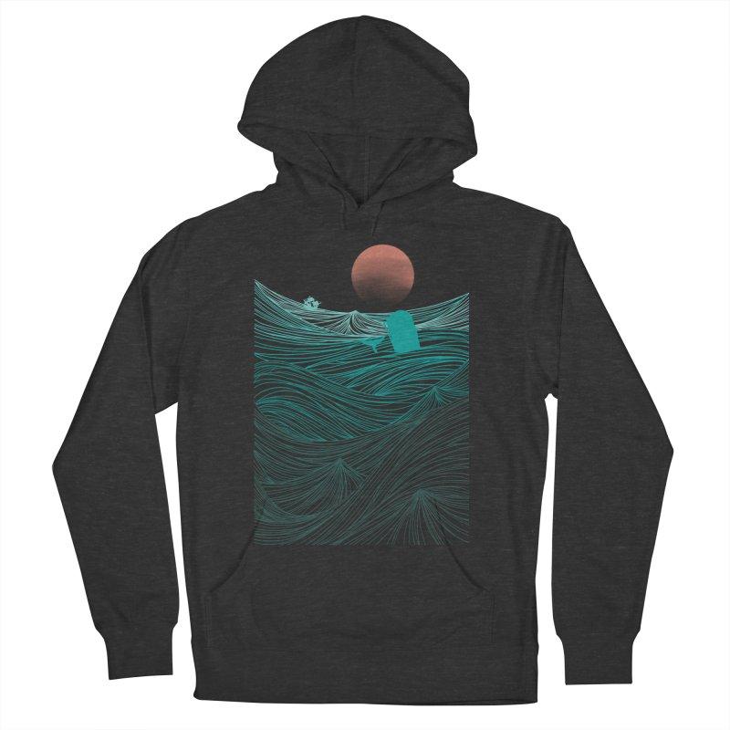 Behind the great whale Men's Pullover Hoody by Sebasebi