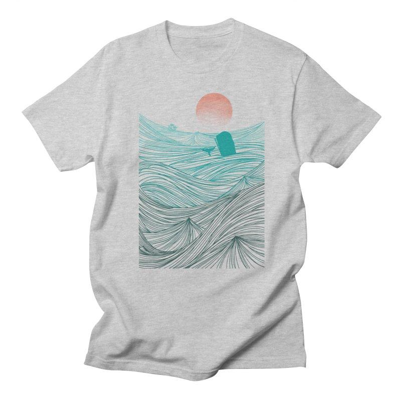 Behind the great whale Men's T-shirt by Sebasebi