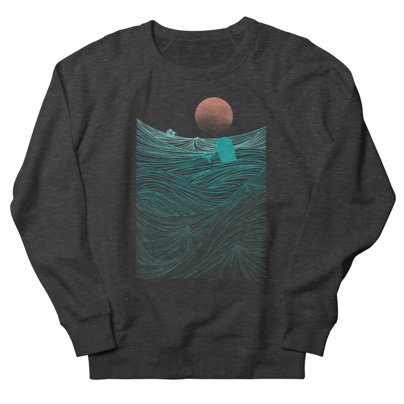 Behind the great whale Women's Sweatshirt by Sebasebi