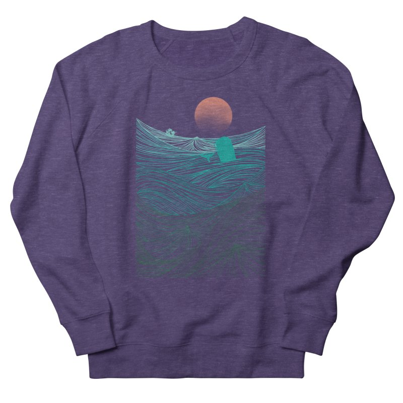 Behind the great whale Men's Sweatshirt by Sebasebi