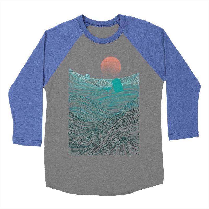 Behind the great whale Women's Baseball Triblend T-Shirt by Sebasebi