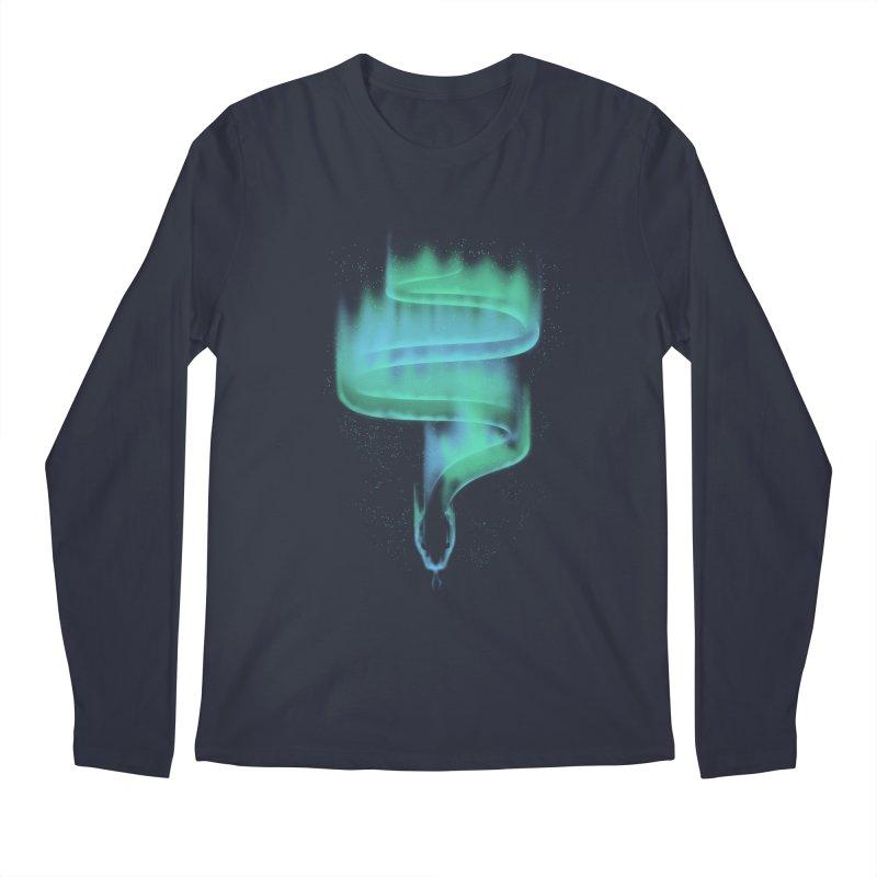 boreal snake Men's Regular Longsleeve T-Shirt by Sebasebi