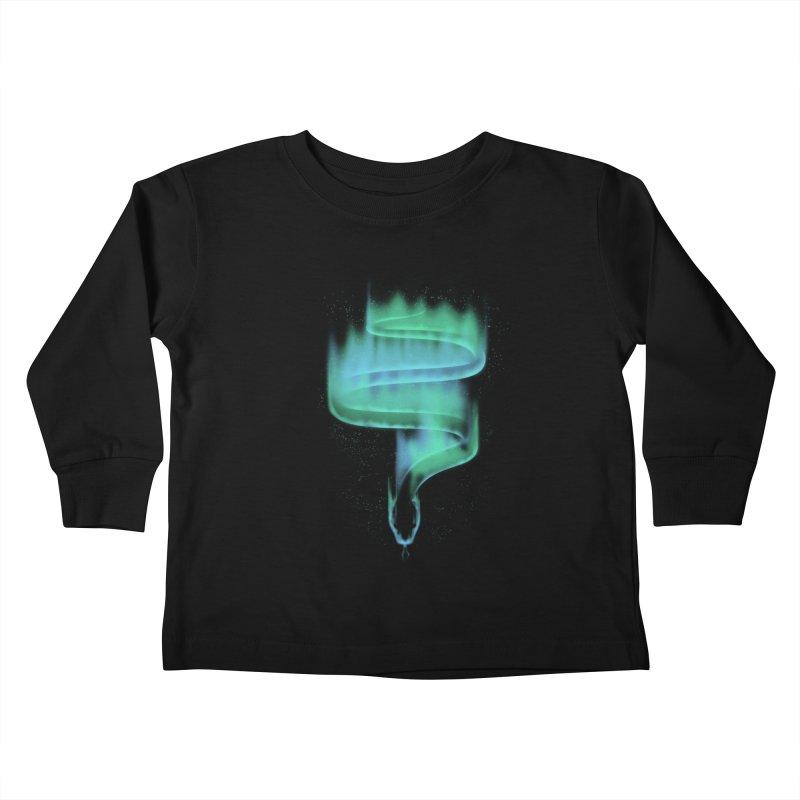 boreal snake Kids Toddler Longsleeve T-Shirt by Sebasebi