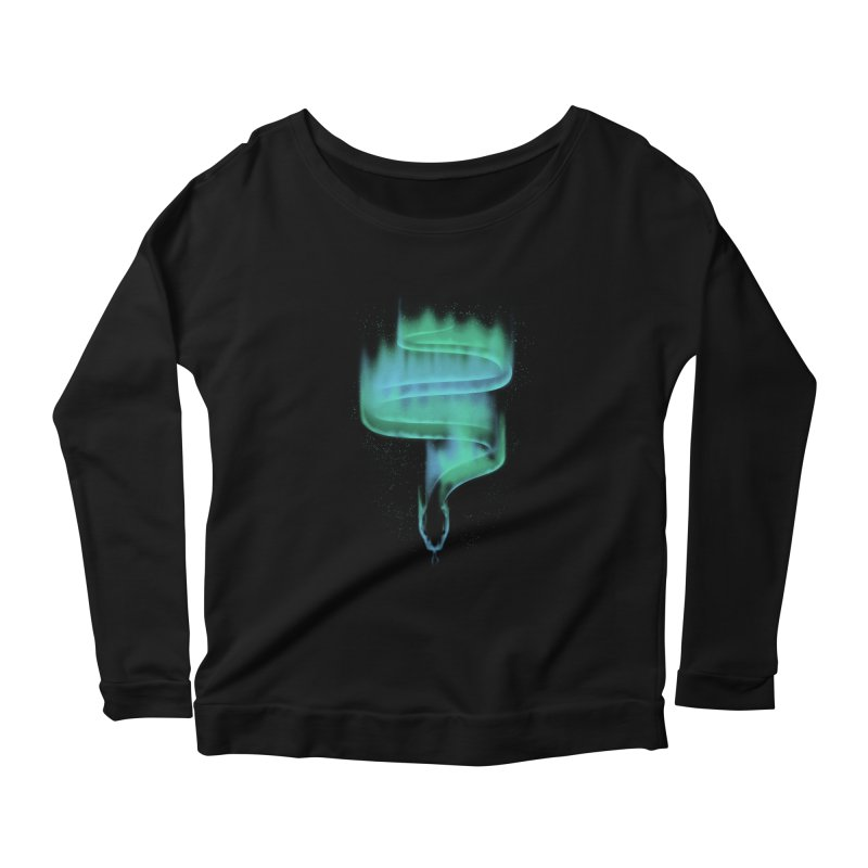 boreal snake Women's Scoop Neck Longsleeve T-Shirt by Sebasebi