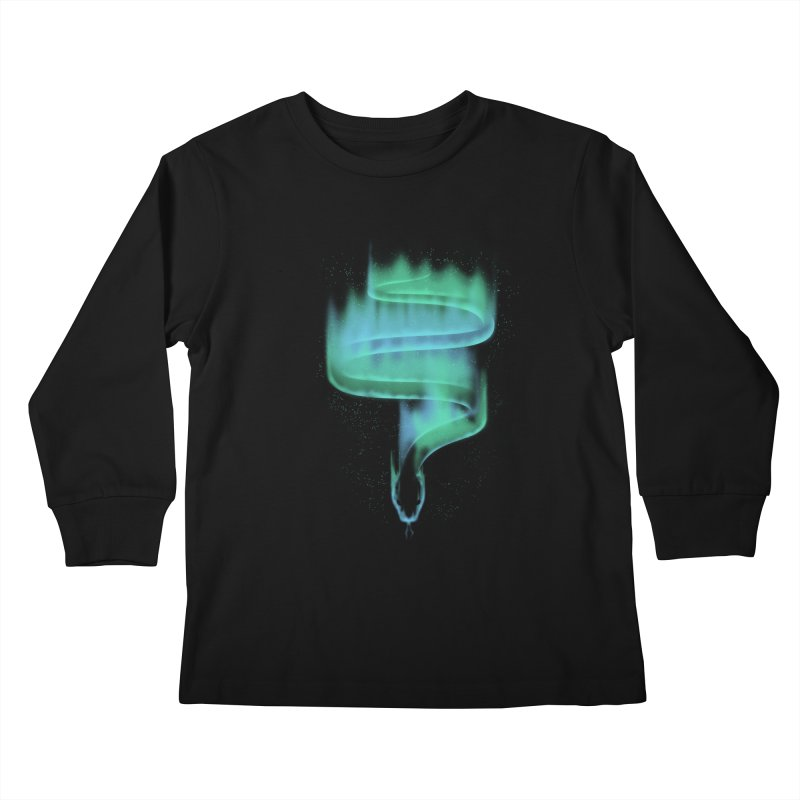 boreal snake Kids Longsleeve T-Shirt by Sebasebi