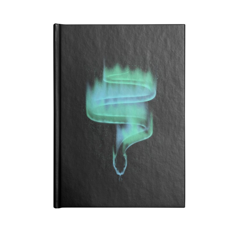 boreal snake Accessories Notebook by Sebasebi