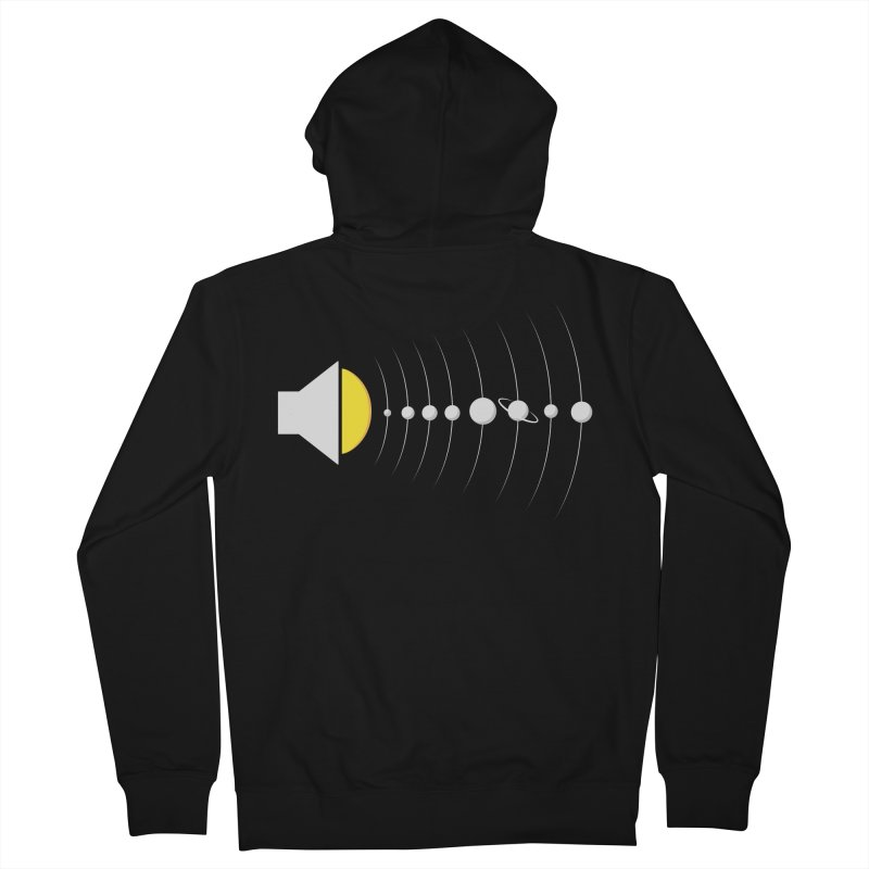 solar sound sistem Men's French Terry Zip-Up Hoody by Sebasebi