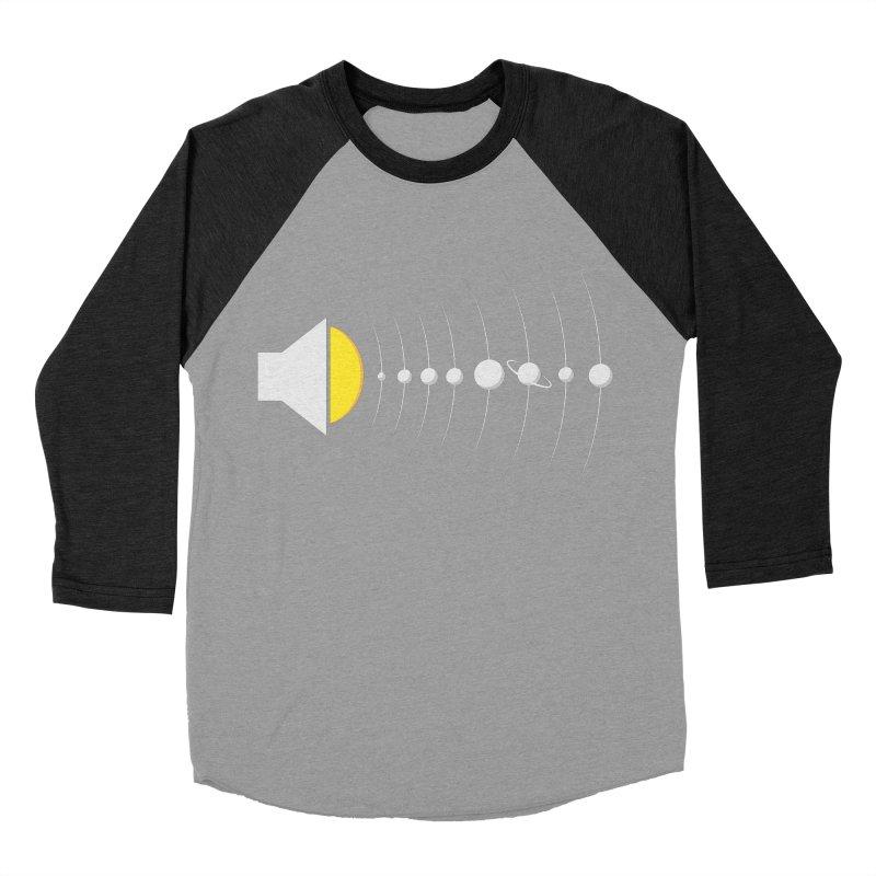 solar sound sistem Women's Baseball Triblend T-Shirt by Sebasebi