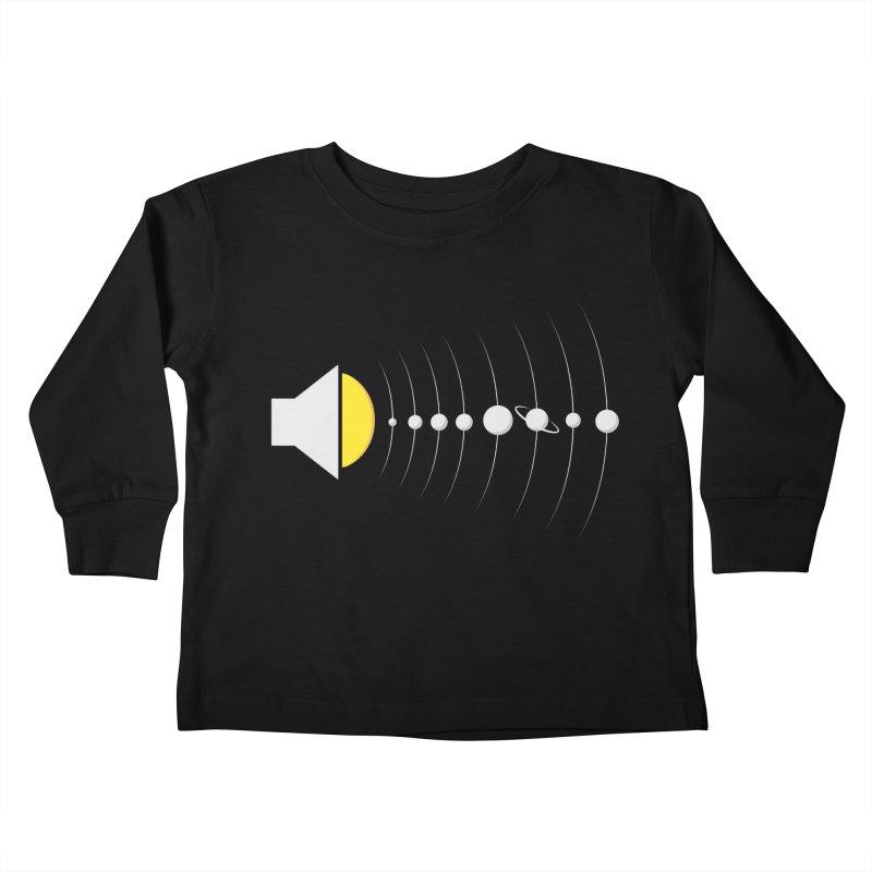 solar sound sistem Kids Toddler Longsleeve T-Shirt by Sebasebi
