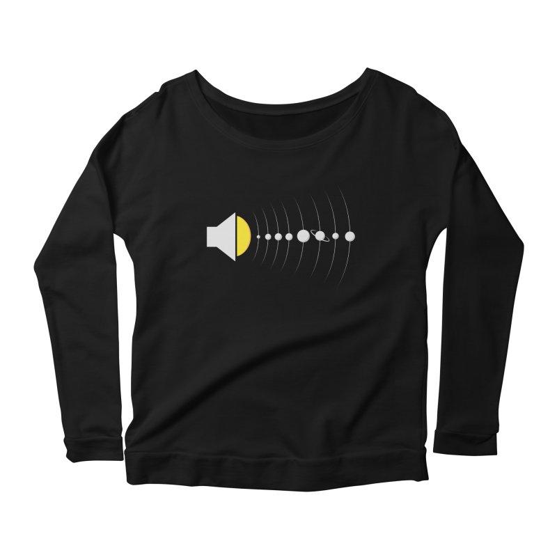 solar sound sistem Women's Scoop Neck Longsleeve T-Shirt by Sebasebi