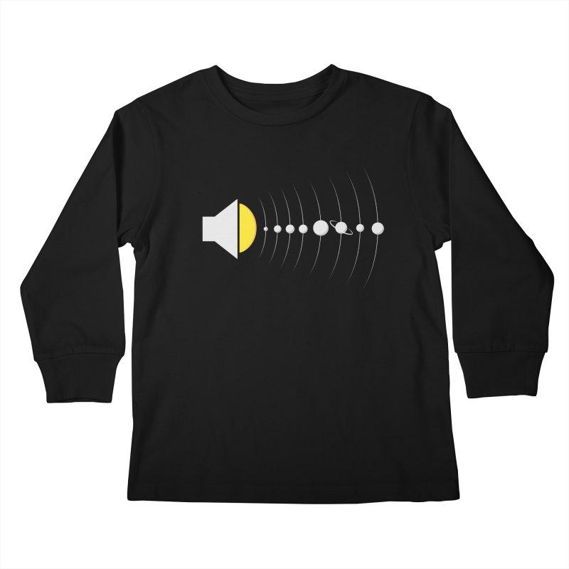 solar sound sistem Kids Longsleeve T-Shirt by Sebasebi