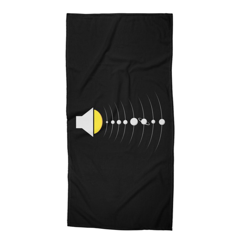 solar sound sistem Accessories Beach Towel by Sebasebi