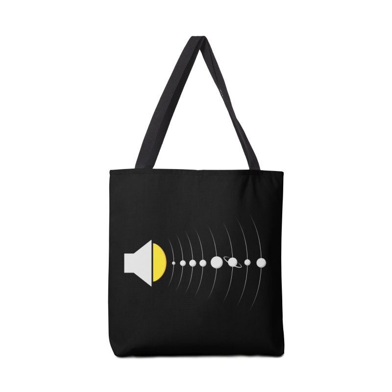 solar sound sistem Accessories Bag by Sebasebi