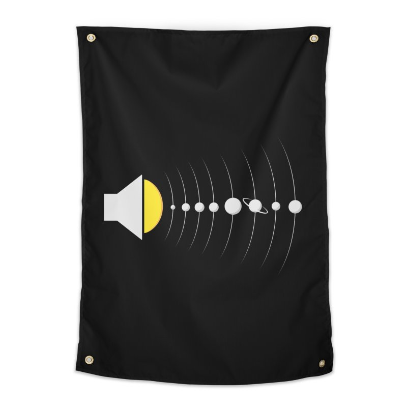 solar sound sistem Home Tapestry by Sebasebi