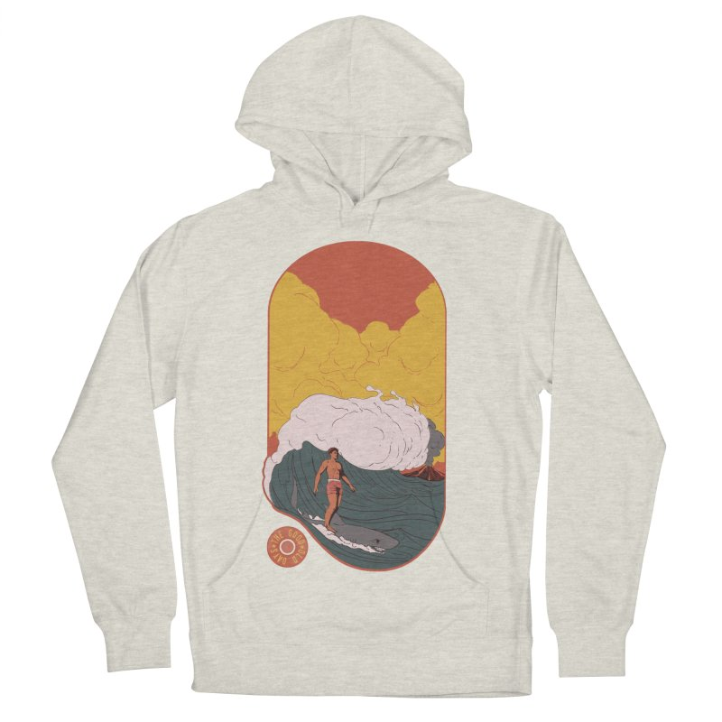 Goods old days Women's French Terry Pullover Hoody by Sebasebi