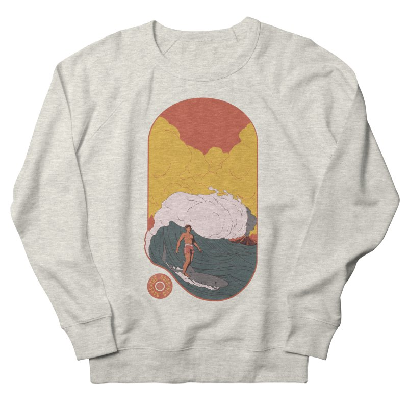 Goods old days Men's French Terry Sweatshirt by Sebasebi