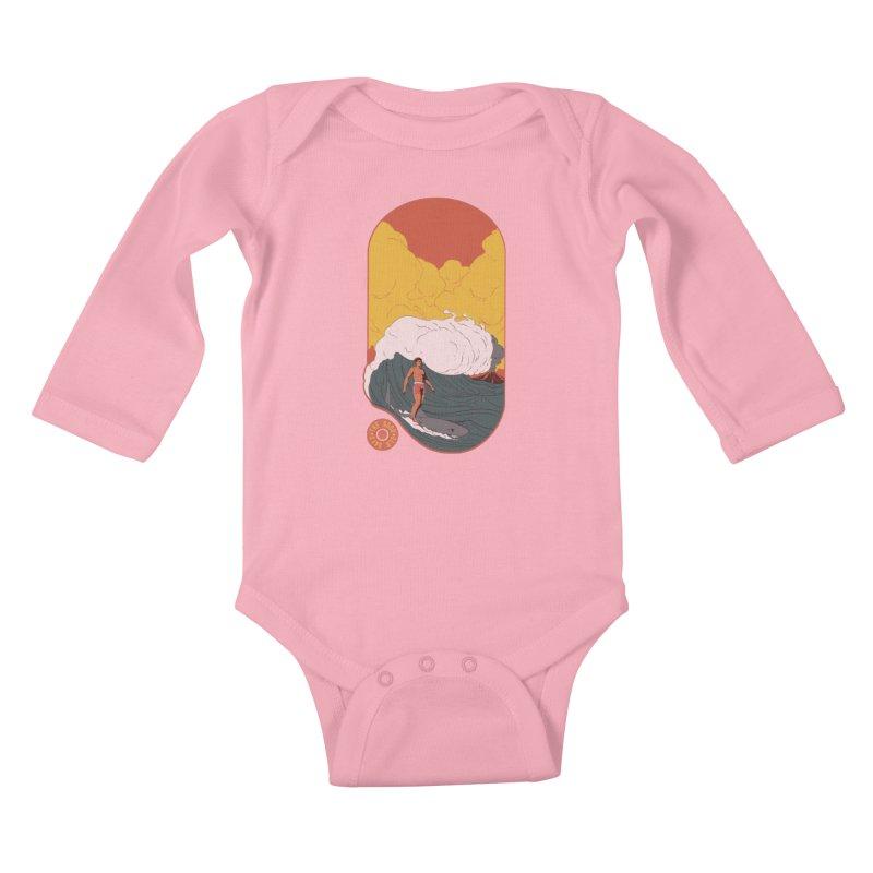 Goods old days Kids Baby Longsleeve Bodysuit by Sebasebi