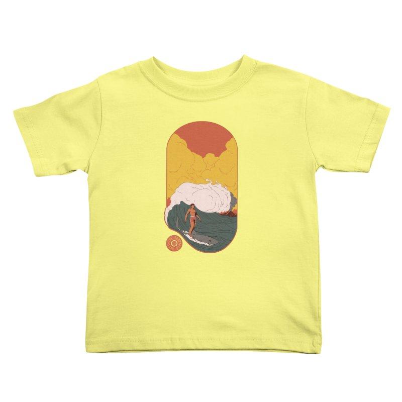 Goods old days Kids Toddler T-Shirt by Sebasebi