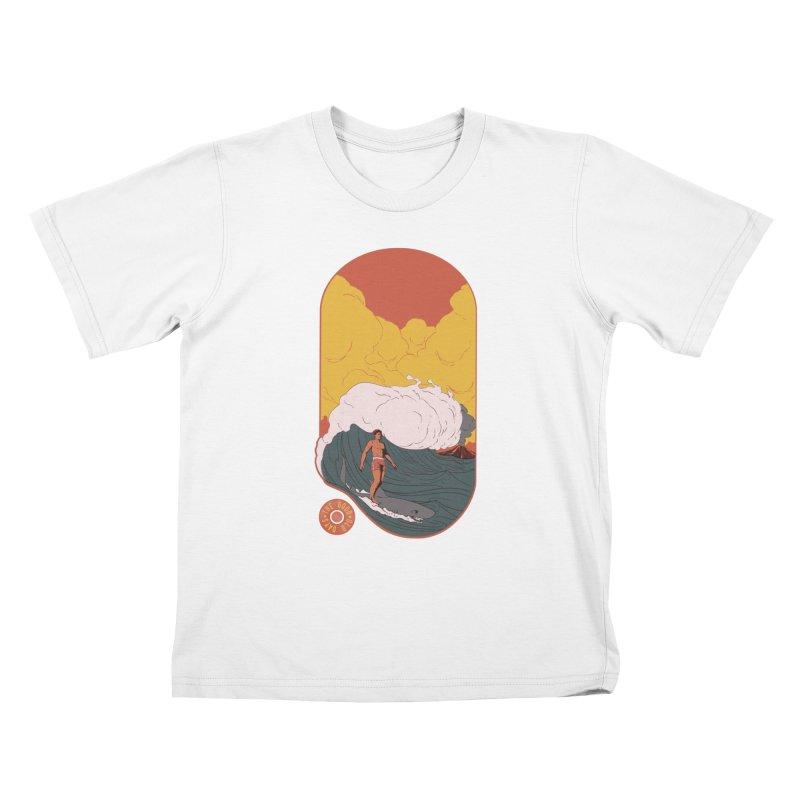 Goods old days Kids T-Shirt by Sebasebi