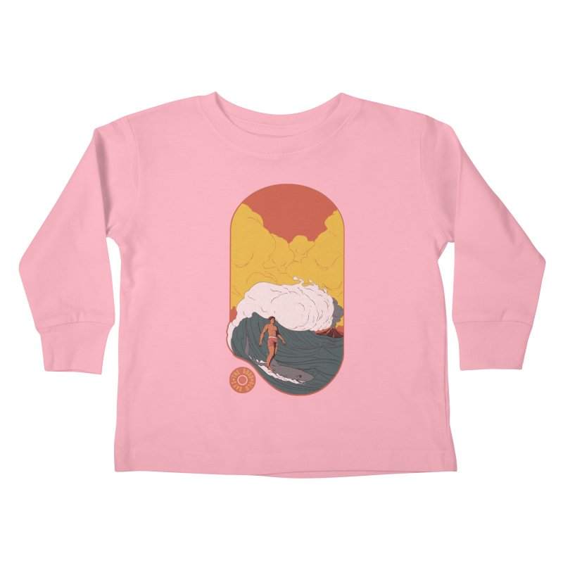 Goods old days Kids Toddler Longsleeve T-Shirt by Sebasebi