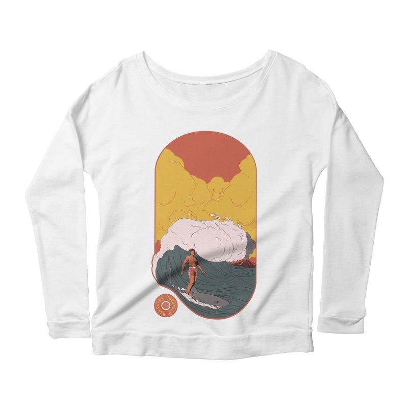 Goods old days Women's Scoop Neck Longsleeve T-Shirt by Sebasebi