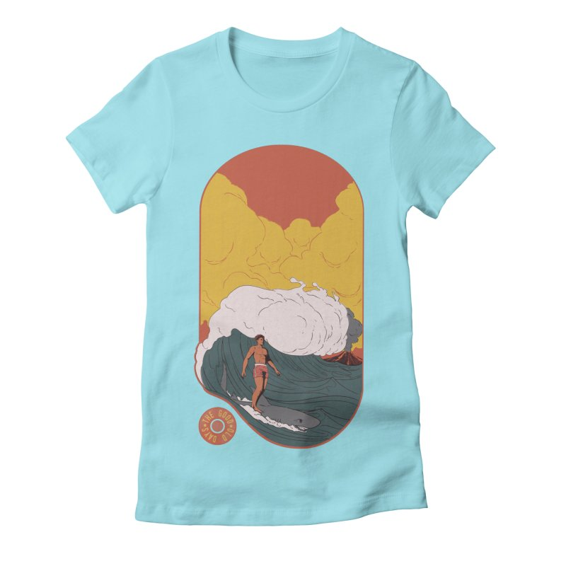 Goods old days Women's Fitted T-Shirt by Sebasebi