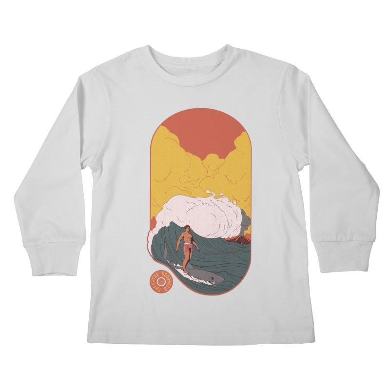 Goods old days Kids Longsleeve T-Shirt by Sebasebi