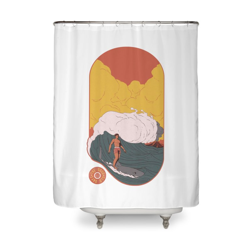 Goods old days Home Shower Curtain by Sebasebi