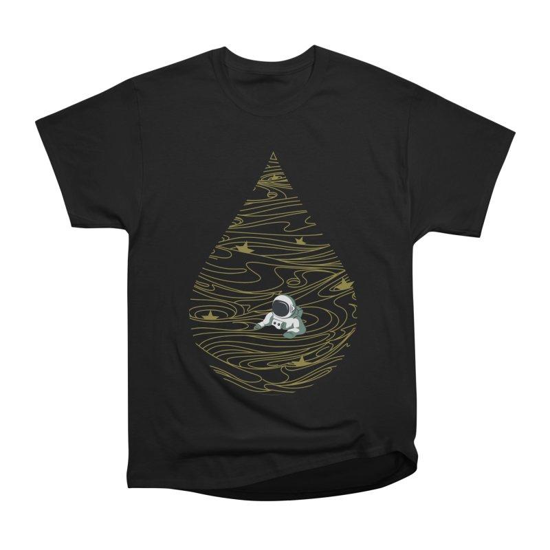 A drop in a sea of stars Men's Heavyweight T-Shirt by Sebasebi